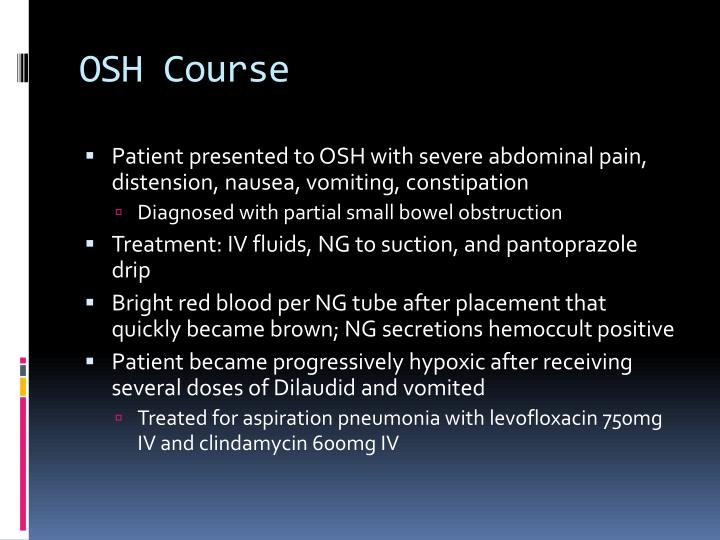 OSH Course