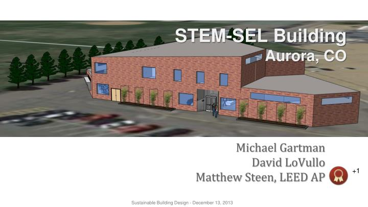 Stem sel building aurora co