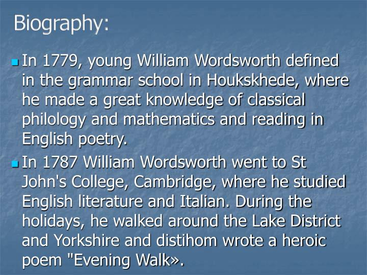 Biography: