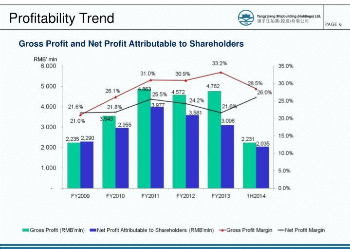 Profitability Trend