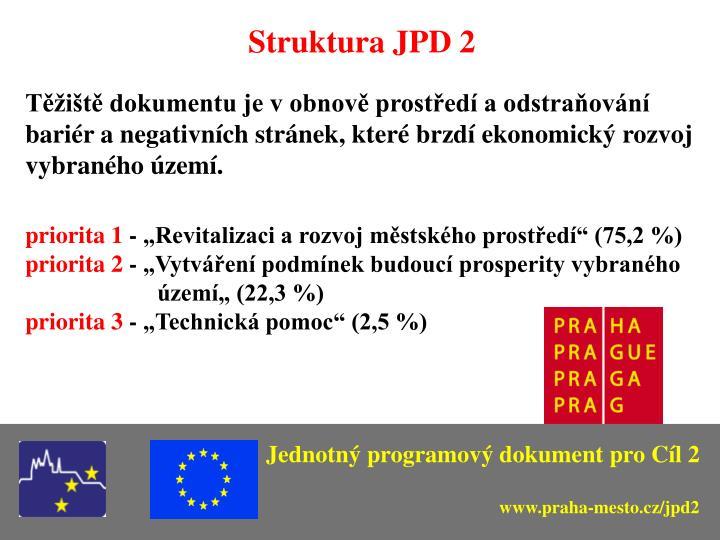 Struktura JPD 2