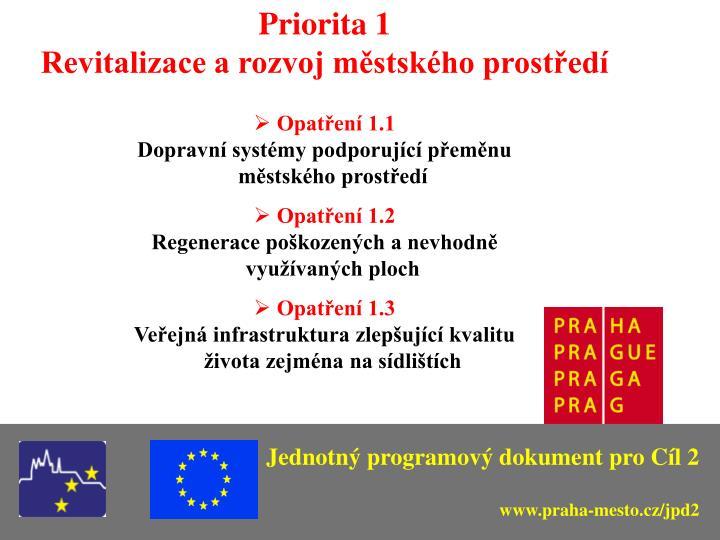Priorita 1