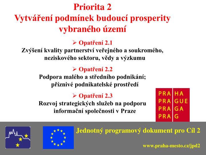 Priorita 2