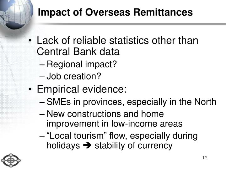 Impact of Overseas Remittances