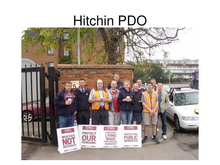 Hitchin PDO