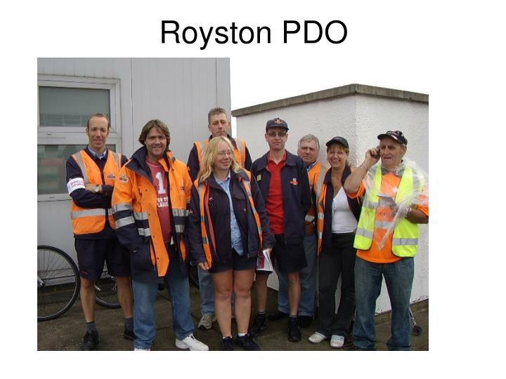 Royston PDO