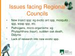 issues facing regional councils1