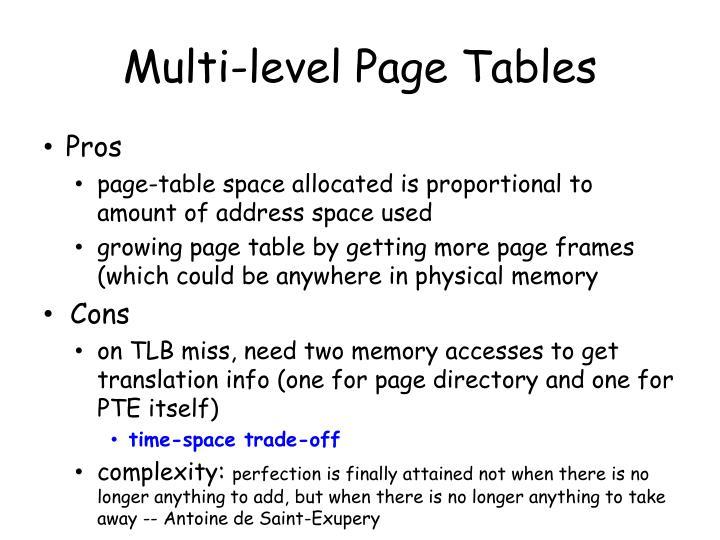 Multi-level