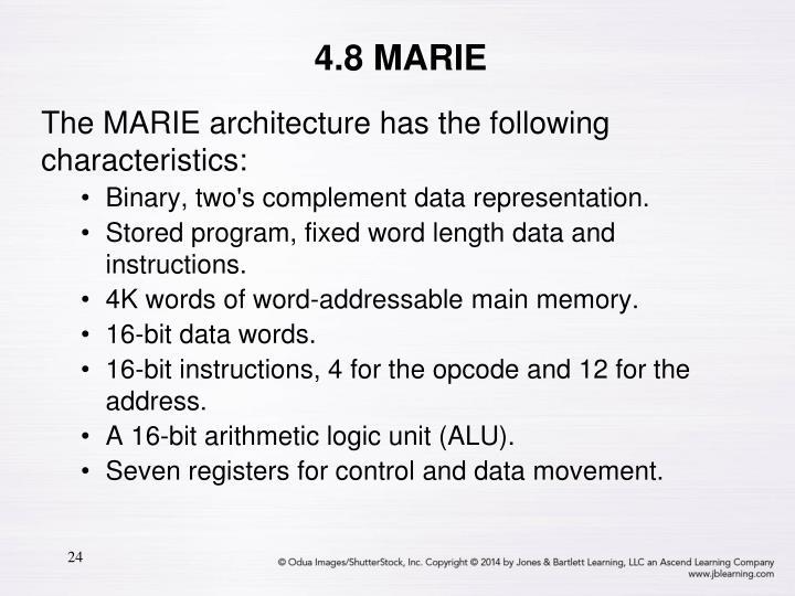4.8 MARIE