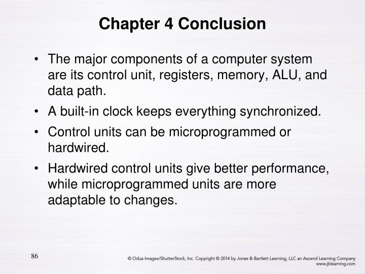 The major components of a computer system are its control unit, registers, memory, ALU, and data path.