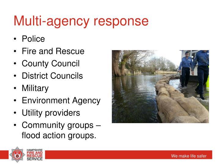 Multi-agency response