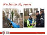 winchester city centre