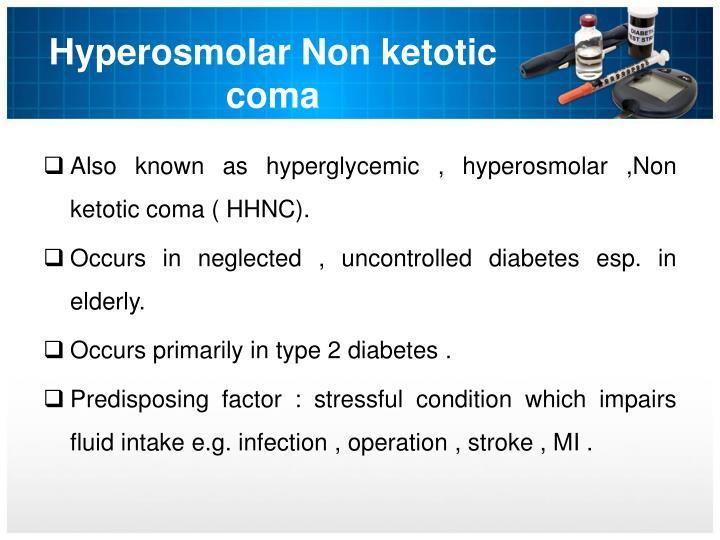 Hyperosmolar Non