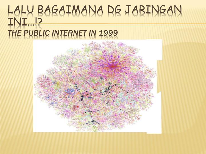 Lalu bagaimana dg jaringan ini...!?