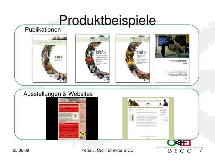Produktbeispiele
