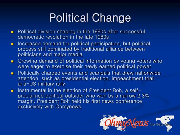 Political Change