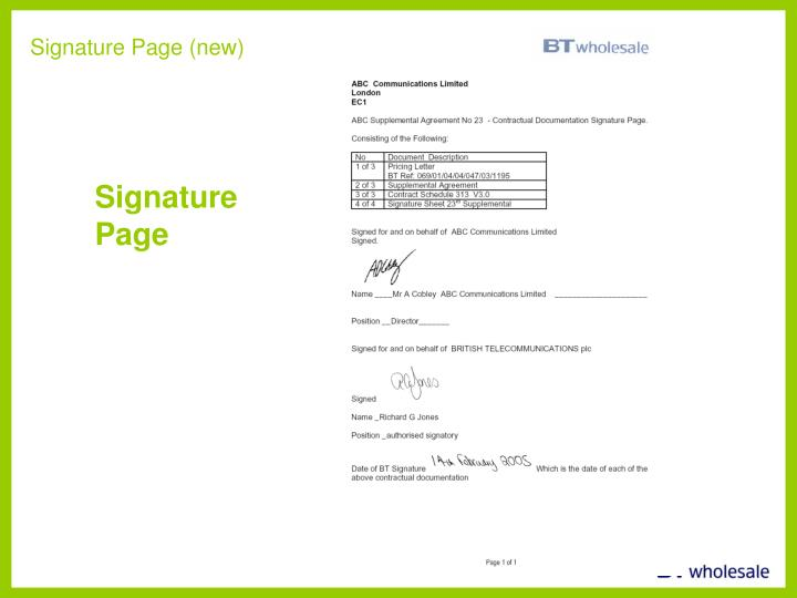 Signature Page (new)