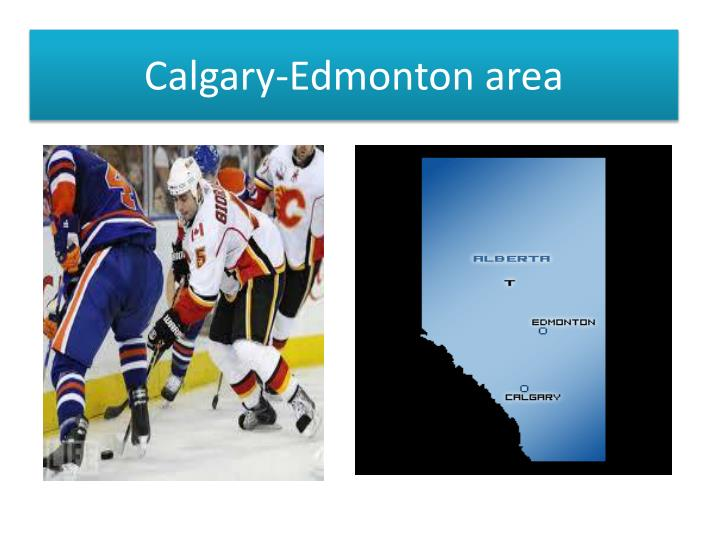 Calgary-Edmonton area