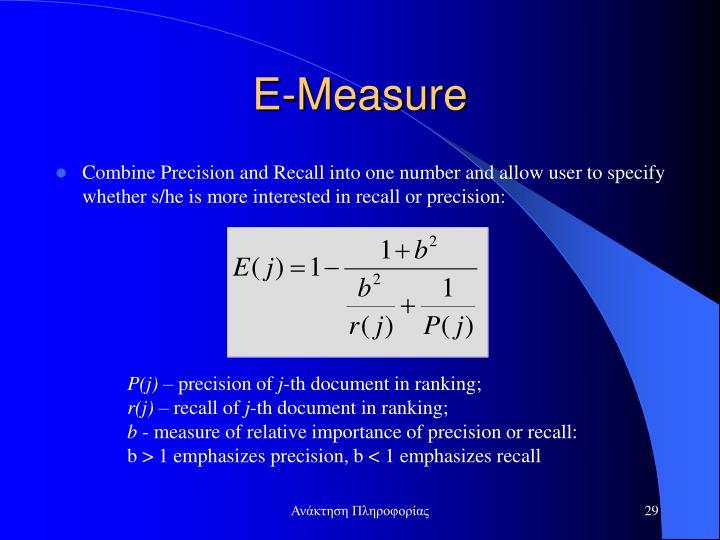 E-Measure