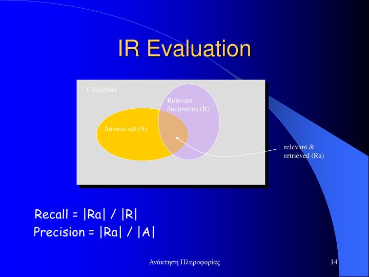 IR Evaluation