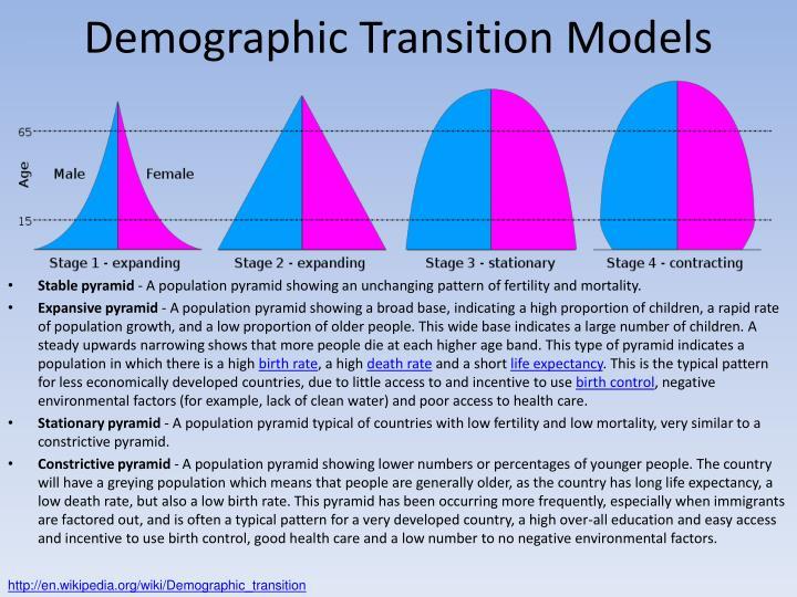 Demographic Transition Models