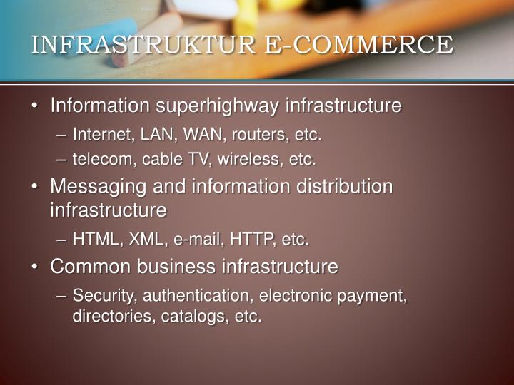 INFRASTRUKTUR E-COMMERCE