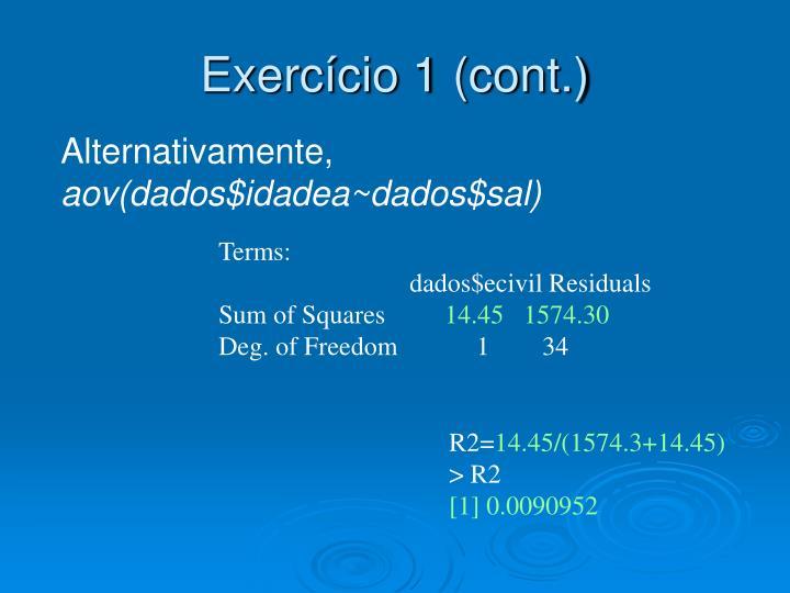 Exercício 1 (cont.)
