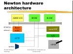 newton hardware architecture