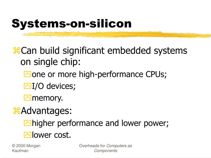Systems-on-silicon