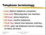 telephone terminology