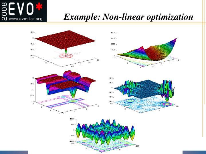 Example: Non-linear optimization