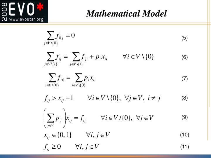 Mathematical Model