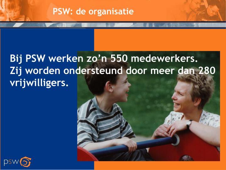 PSW: de organisatie