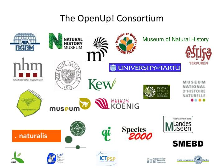 The OpenUp! Consortium