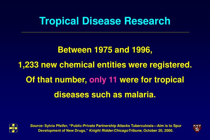Tropical Disease Research