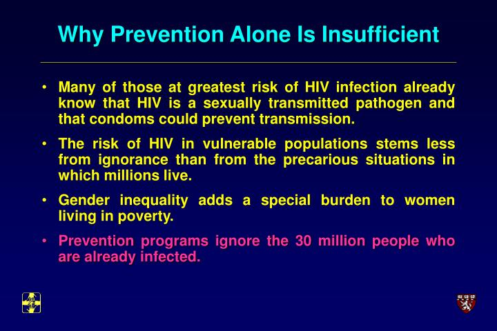 Why Prevention Alone Is Insufficient