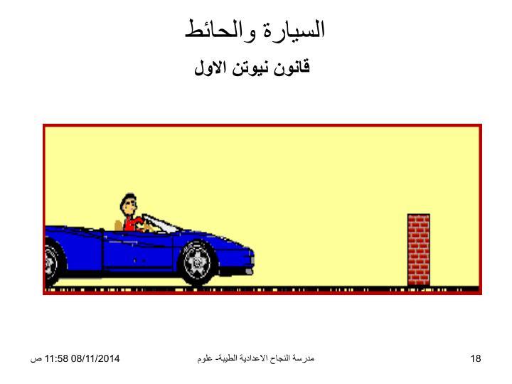 السيارة والحائط