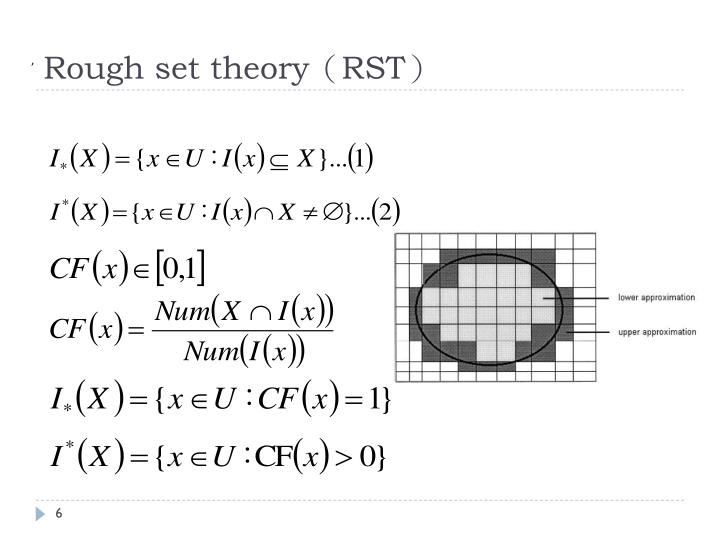 Rough set theory