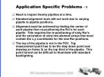 application specific problems 1