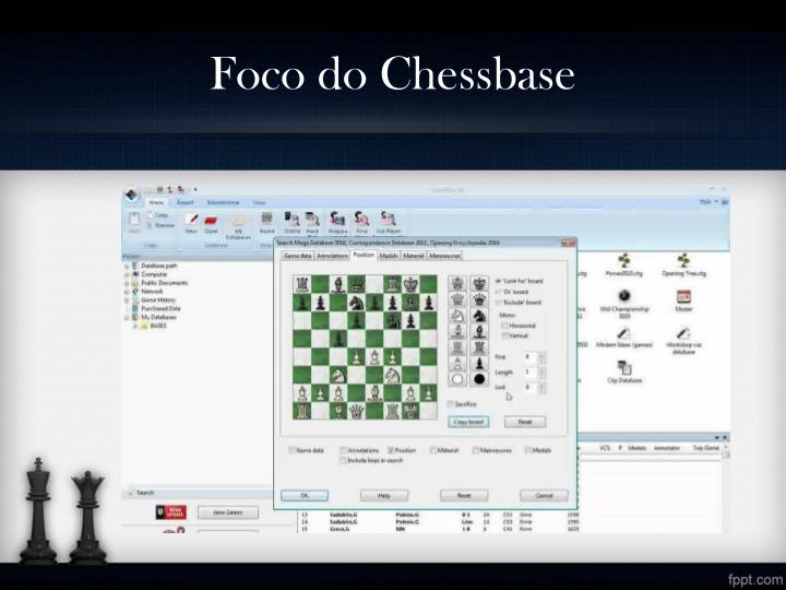 Foco do Chessbase