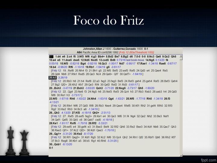 Foco do Fritz