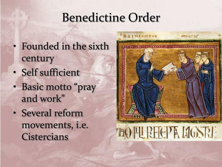 Benedictine Order