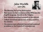 john wycliffe 1320 1384