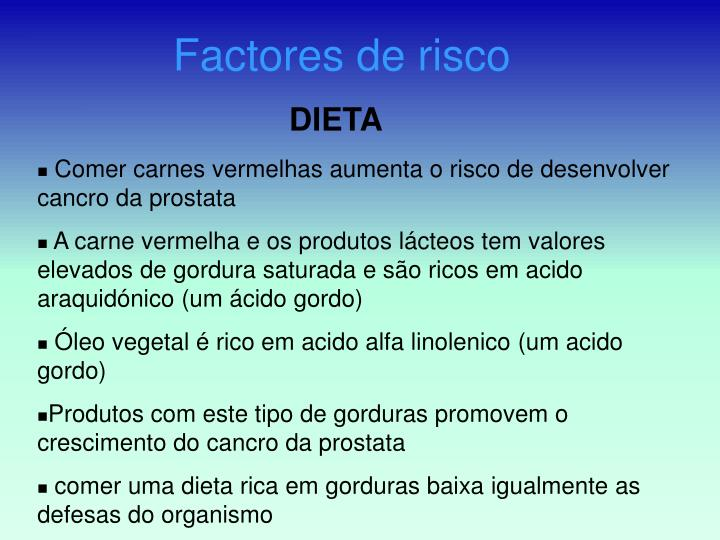 Factores de risco