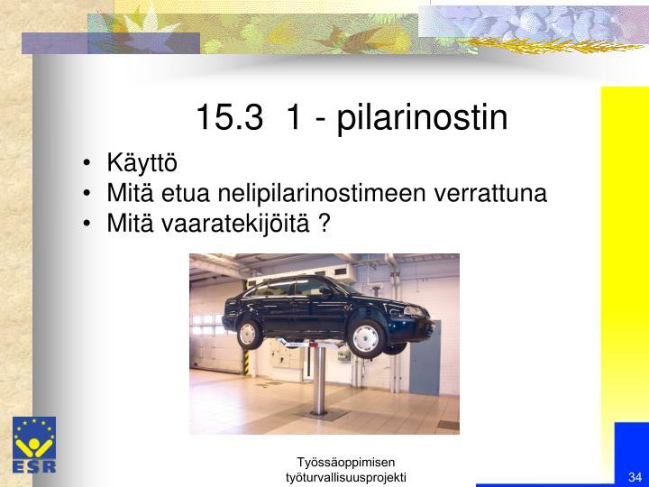 15.3  1 - pilarinostin
