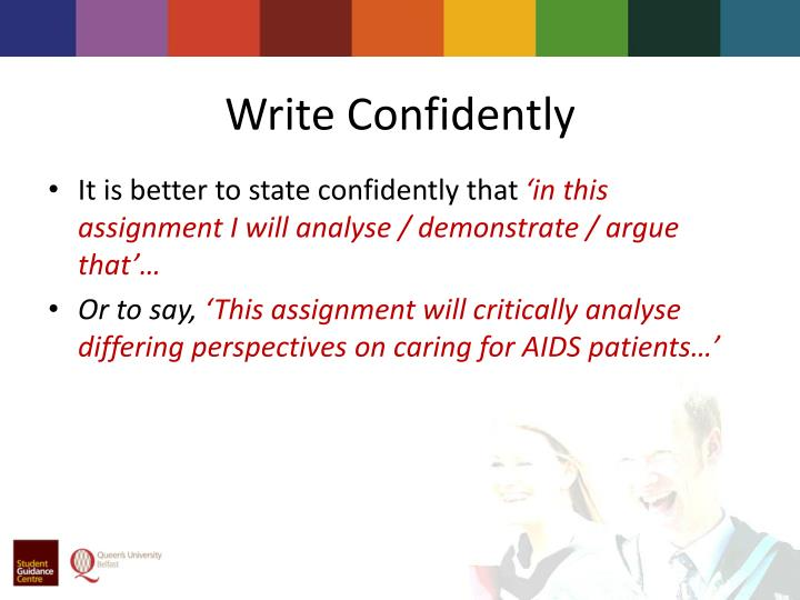 Write Confidently