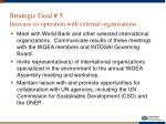 strategic goal 5 increase co operation with external organizations