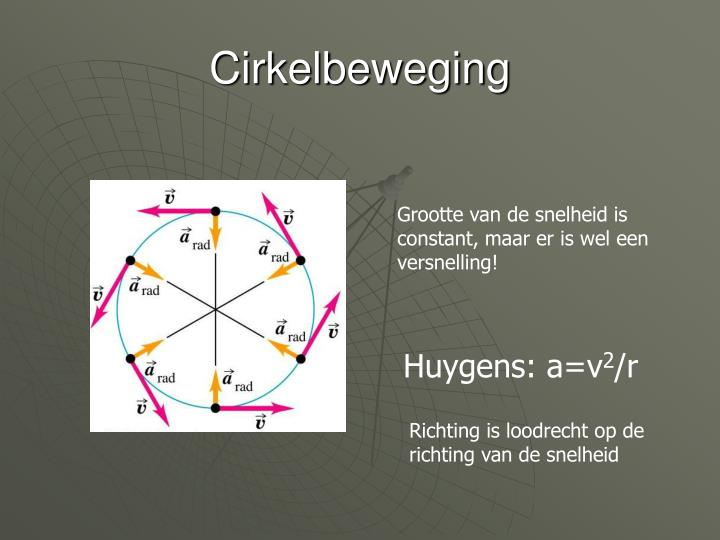 Cirkelbeweging