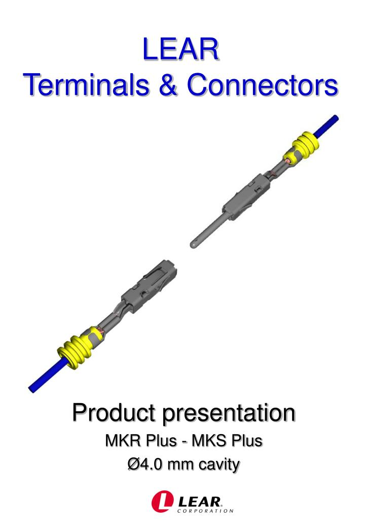 Lear terminals connectors