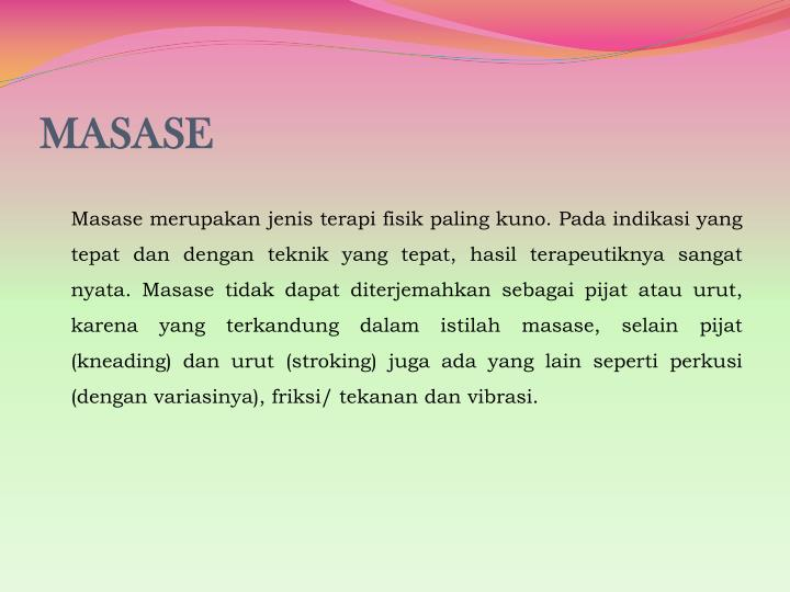 MASASE